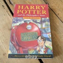 Très Rare Erreur Baguette Harry Potter Et La Pierre Philosophale Première Édition Pb