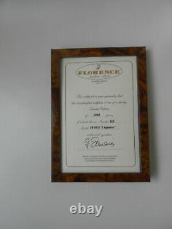 Très Rare Giuseppe Armani Figurine Elegance 1180e Limited Edition 89/250