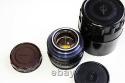 Très Rare Jupiter-3 Black Edition 50mm F/1.5 Objectif De Télémètre Soviétique M39 Monture