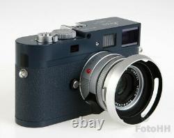 Très Rare Leica Limited Edition Leica M9-p Gris En Finition Bleu Militaire