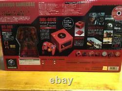 Très Rare Nintendo Game Cube Char Box Gundam Limited Edition Complete Set Char