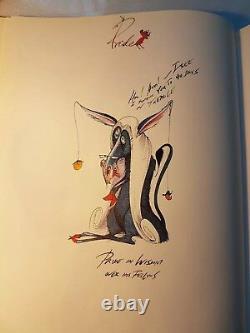 Très Rare Première Édition Signée Scarfes Sept Péchés Mortels Gerald Scarfe (b. (en Milliers De Dollars Des États-unis)