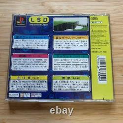 Très Rare Ps1 Lsd Dream Émulateur Première Édition Limitée Complète Du Japon