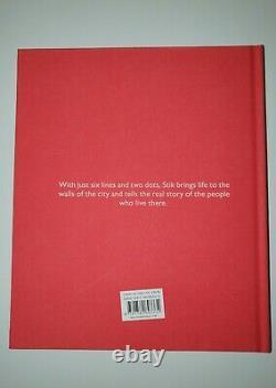 Très Rare Stik Signée 2015 Premier Livre Édition Cartonnée + Affiche Bleu Rare Imprimer
