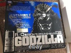 Très Rare Tokyo Marui Radio Control Godzilla (godzilla Biollante Version) 1994