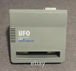 Très Rare Ufo Super Drive Pro 6 Hyper Version 34m Snes Super Nintendo Famicon