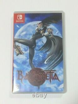 Used Bayonetta Nintendo Switch Jeu Japon Importer Très Rare De Climax Edition