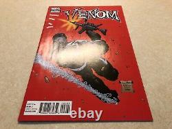 Venom # 2 (2011) Vol 2 Red 2nd Print Variante Very Rare & Htf Vf+/nm