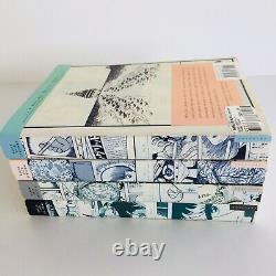 Very Rare 1st Edition Black Jack Manga Vols 1-4 Par Osamu Tezuka Astro Boy Kimba