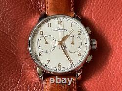 Very Rare Minerva Heritage Chronograph Limited Edition Watch En Full Set