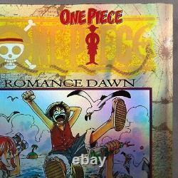 Very Rare One Piece Vol 1 Romance Dawn Limited Edition Manga D'or Métallisé #3978