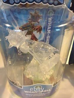 Very Rare Skylanders Crystal Clear Wham-shell Variante -vhtf & Version Originale