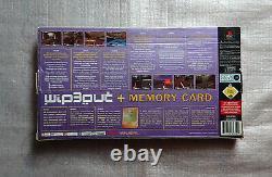 Wipeout 3 Rare Edition Ps1 + Carte Mémoire Très Rare Saint Graal