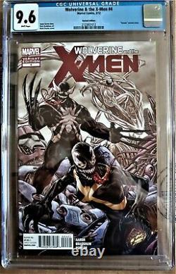 Wolverine & The X-men 4 Très Rare Venom Variant 1 De 39 Cgc 9,6 1ère Série 2012