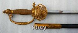 Wwii Very Fine & Very Rare Première Variante De L'épée Courte Du Diplomate Japonais