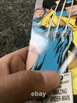 X-men 11 Pressman Silver Variante Très Rare 2ème Impression Jim Lee En Vf À Vf+