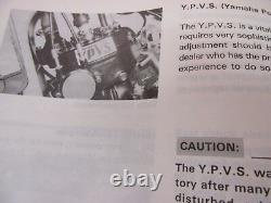 Yamaha Rd250lc Rd350lc2 31k Véritables Propriétaires Manuel Très Rare 1ère Édition Pas Copie