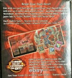Yu-gi-oh Jaden Yuki Starter Deck 42 Cartes 1ère Édition # 104548 Très Rare F/s