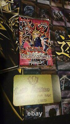 Yugioh! Booster Pack De Booster De Force De Magicien 1ère Édition Anglais Nouveau Et Très Rare